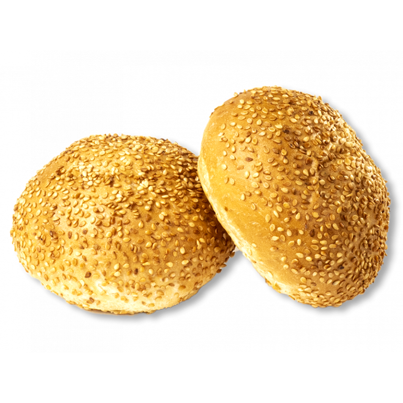 Бутербродна булочка з кунжутом