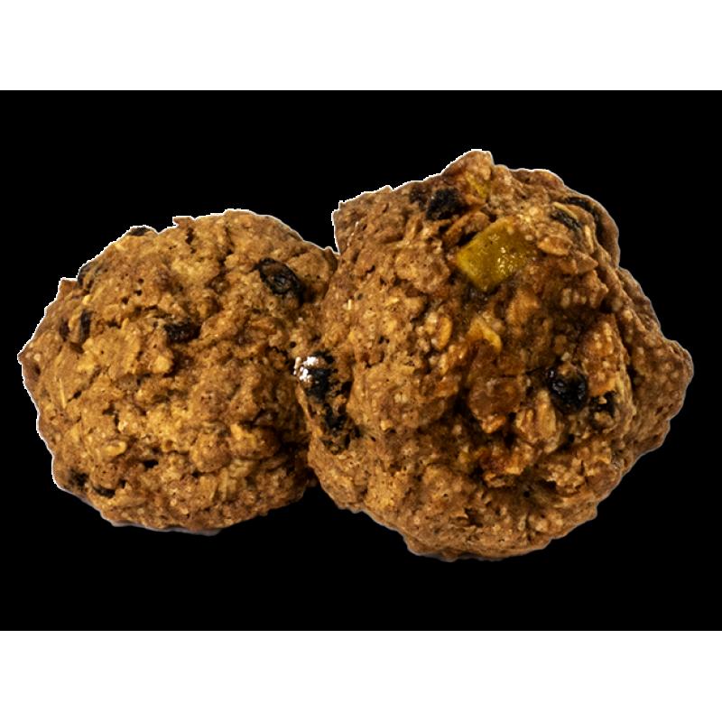 Печиво вівсяне з фруктами