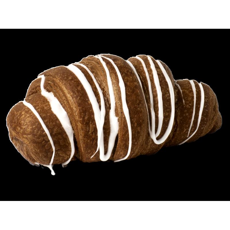 Шоколадний круасан з заварним кремом