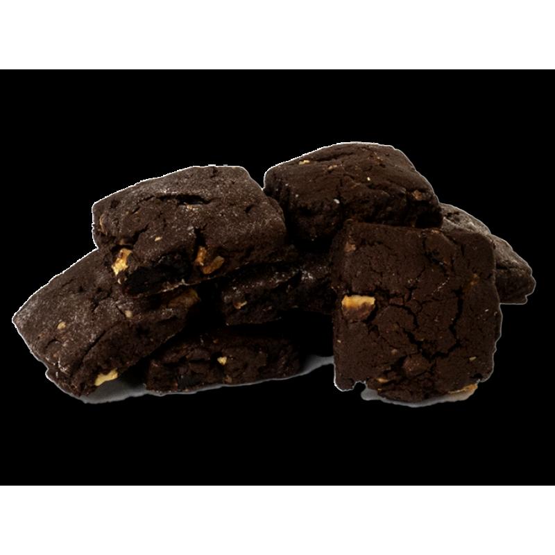 Шоколадне печиво з журавлиною