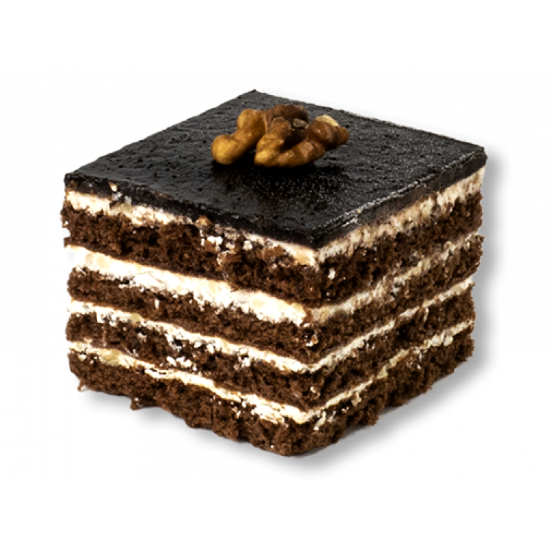 Медово-шоколадне з горіхом