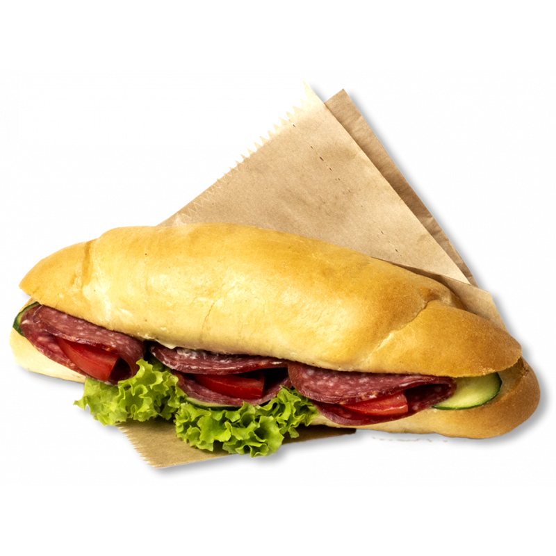 Бутерброд  «Рогалик з салямі»
